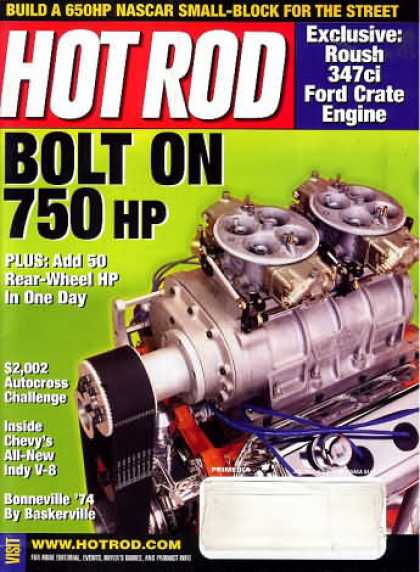 Hot Rod - July 2002