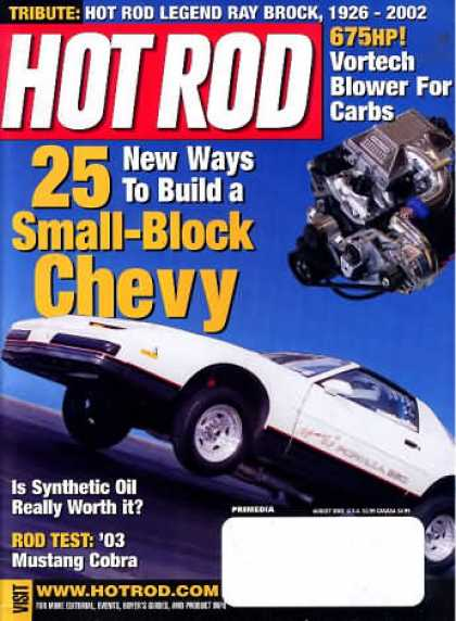 Hot Rod - August 2002