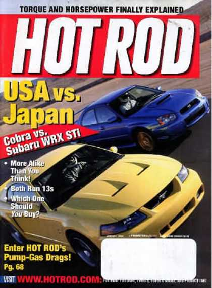 Hot Rod - January 2004
