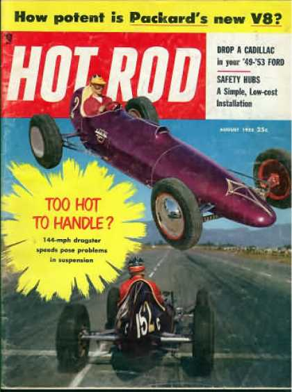Hot Rod - August 1955