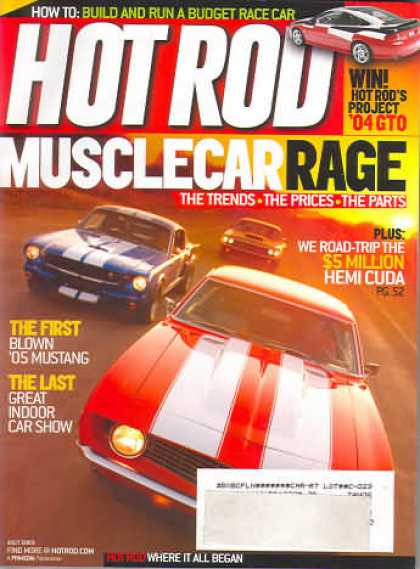 Hot Rod - July 2005