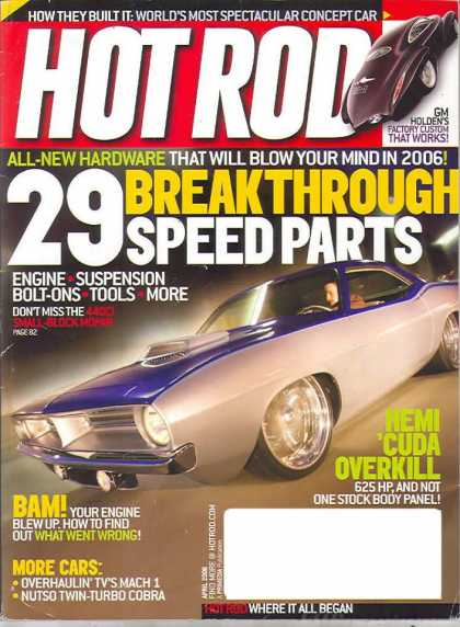 Hot Rod - April 2006