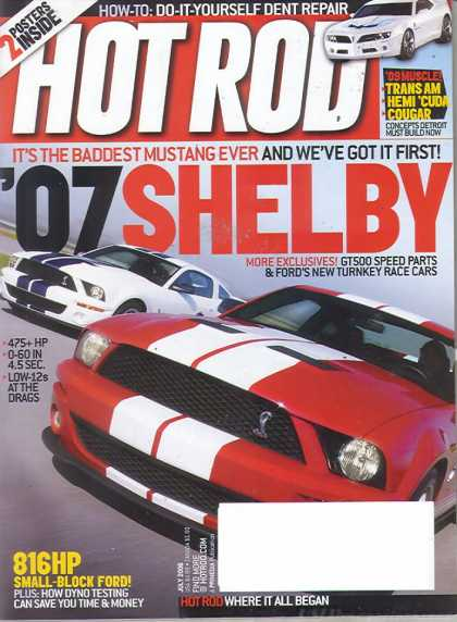 Hot Rod - July 2006