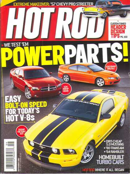 Hot Rod - September 2007