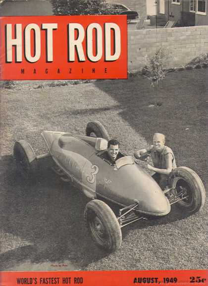 Hot Rod - August 1949