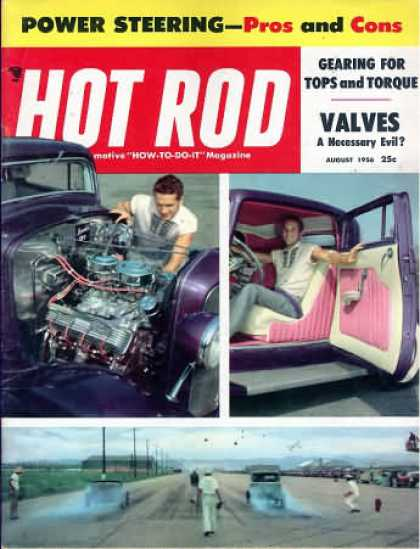 Hot Rod - August 1956