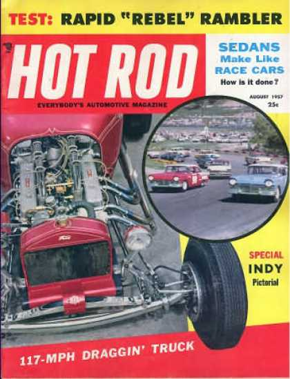 Hot Rod - August 1957