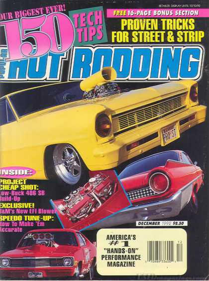 Hot Rodding - December 1992