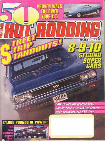 Hot Rodding - March 1993