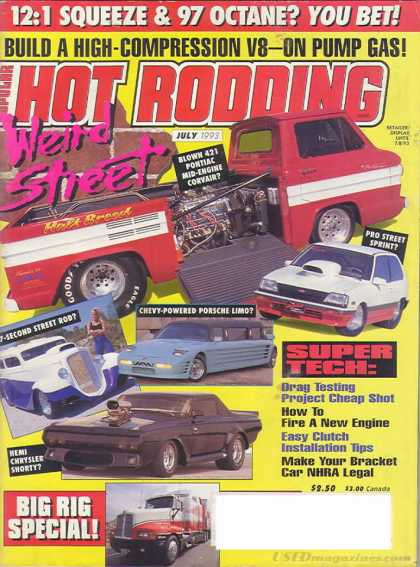 Hot Rodding - July 1993