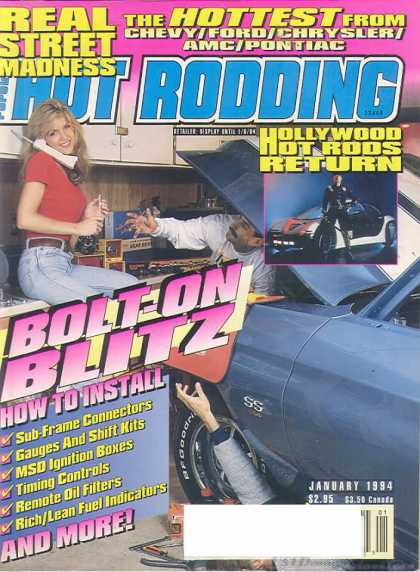 Hot Rodding - January 1994