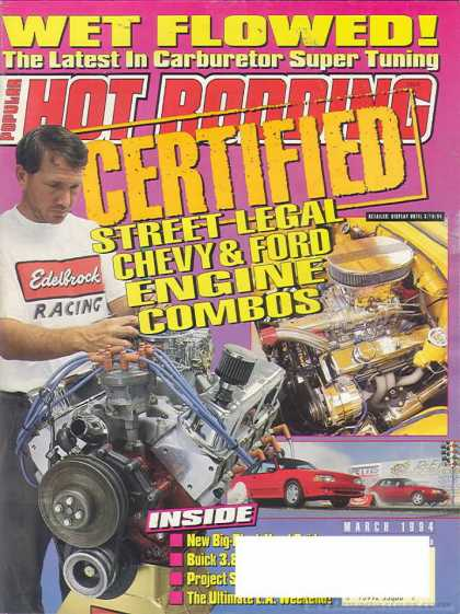 Hot Rodding - March 1994