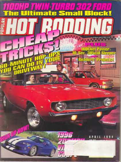 Hot Rodding - April 1994