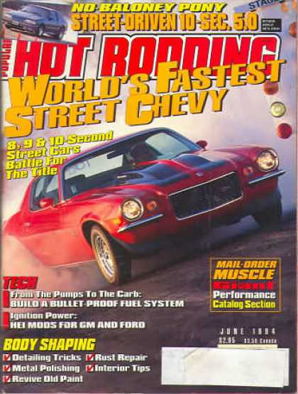 Hot Rodding - June 1994