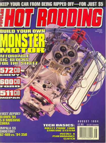Hot Rodding - August 1994