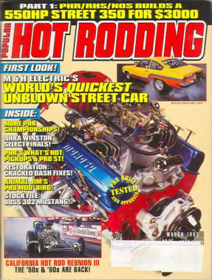 Hot Rodding - March 1995