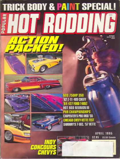 Hot Rodding - April 1995
