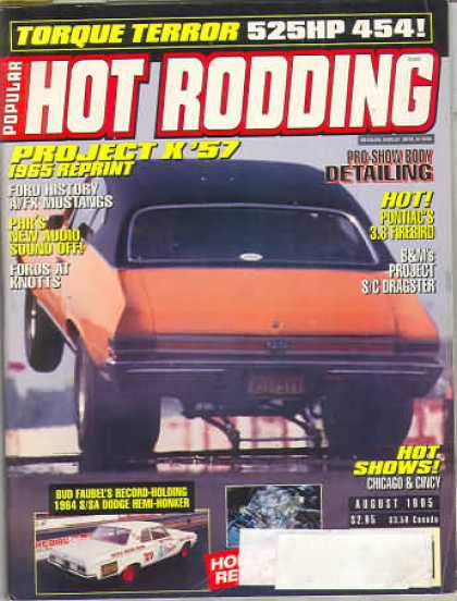 Hot Rodding - August 1995
