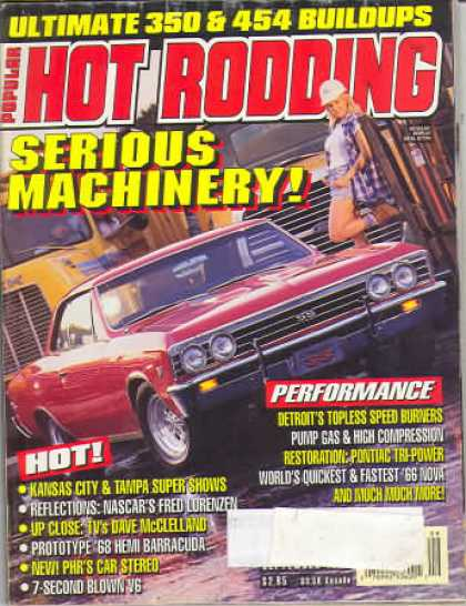 Hot Rodding - September 1995