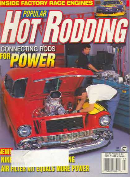 Hot Rodding - July 1996