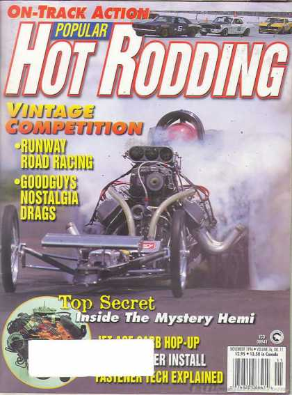 Hot Rodding - November 1996