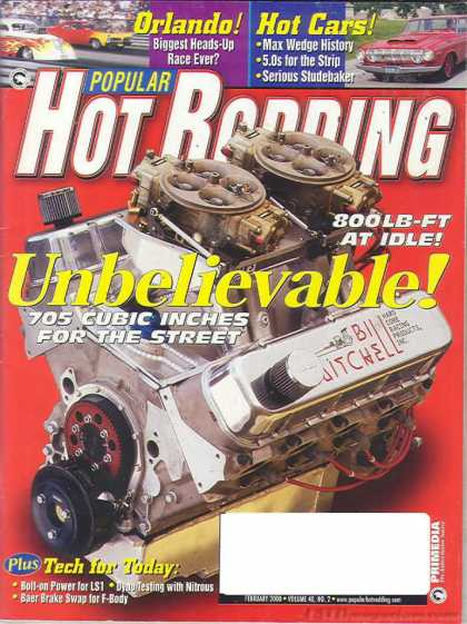 Hot Rodding - February 2000