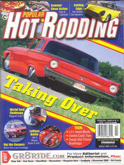 Hot Rodding - October 2000