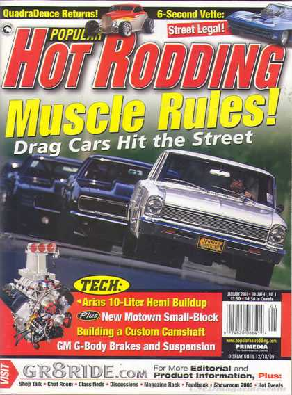 Hot Rodding - January 2001