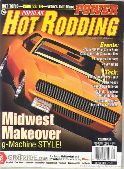 Hot Rodding - February 2001