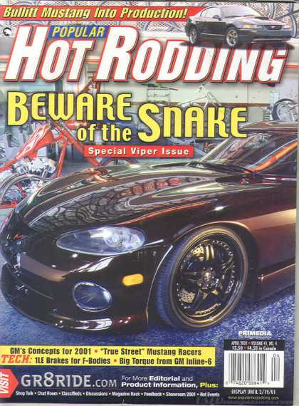 Hot Rodding - April 2001