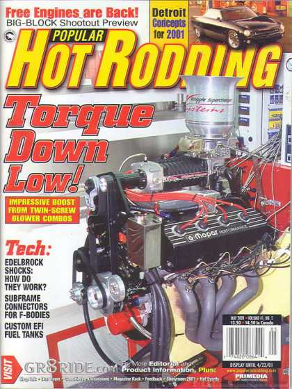 Hot Rodding - May 2001