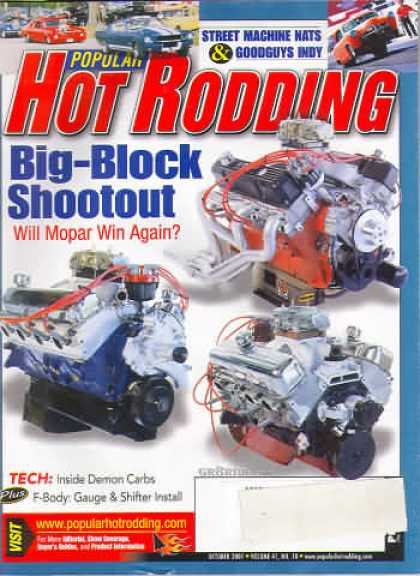Hot Rodding - October 2001