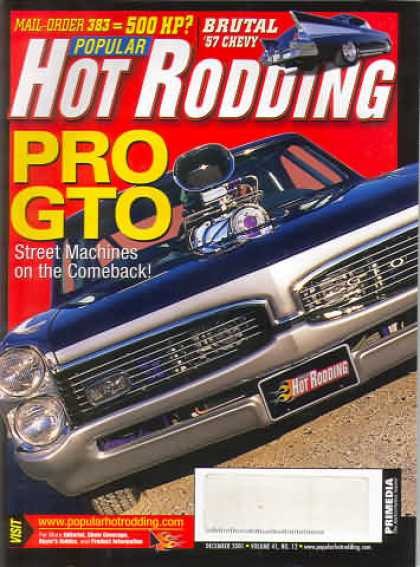 Hot Rodding - December 2001
