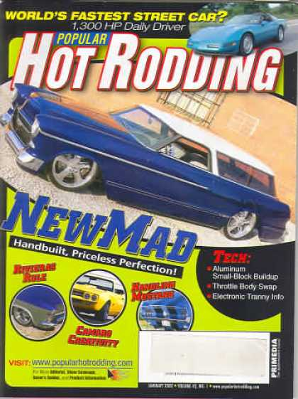 Hot Rodding - January 2002