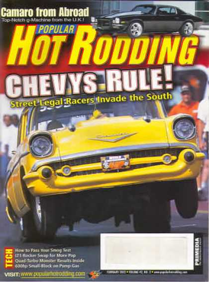 Hot Rodding - February 2002