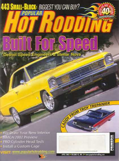 Hot Rodding - April 2002