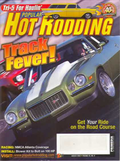 Hot Rodding - August 2002