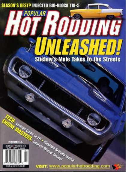 Hot Rodding - March 2003