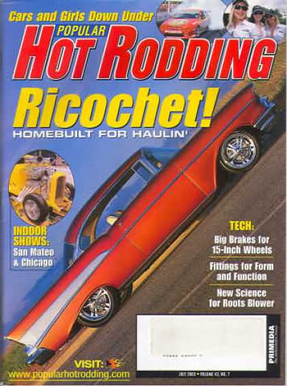 Hot Rodding - July 2003