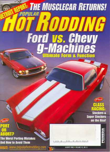 Hot Rodding - August 2003