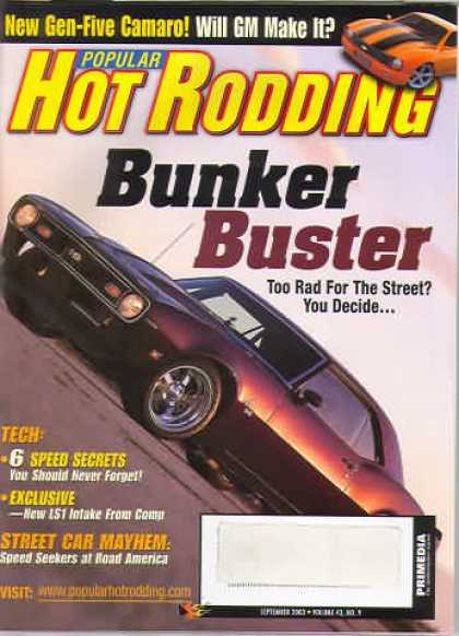 Hot Rodding - September 2003