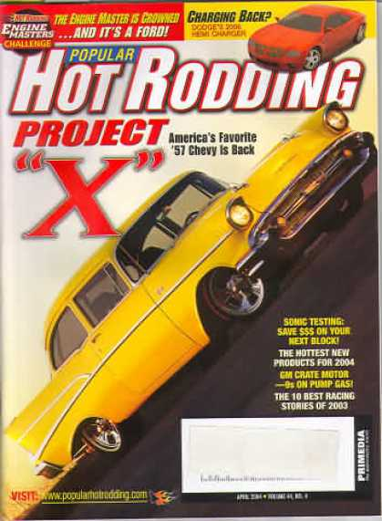 Hot Rodding - April 2004