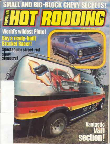 Hot Rodding - July 1976