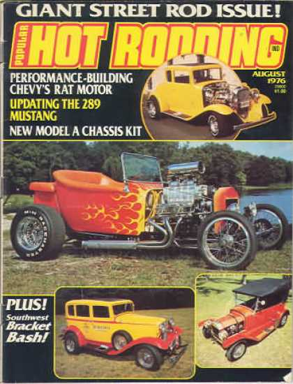 Hot Rodding - August 1976