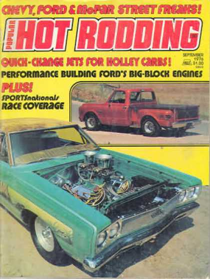 Hot Rodding - September 1976