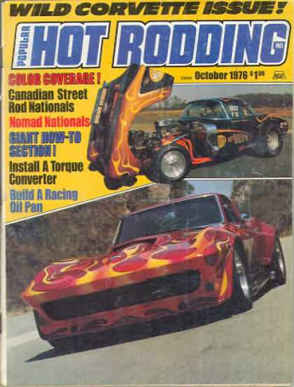 Hot Rodding - October 1976