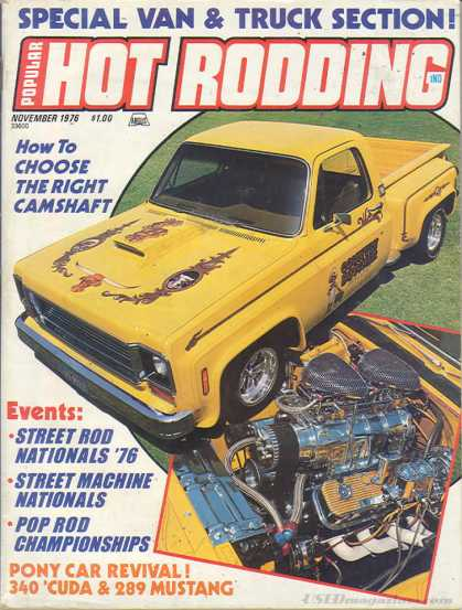 Hot Rodding - November 1976