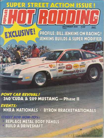 Hot Rodding - December 1976