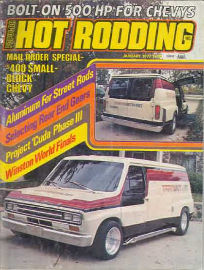 Hot Rodding - January 1977