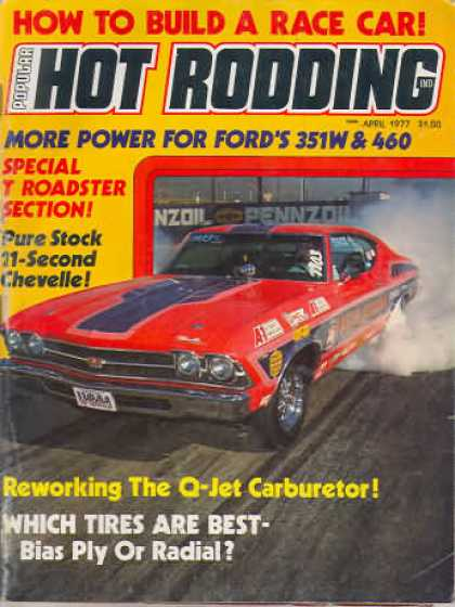 Hot Rodding - April 1977